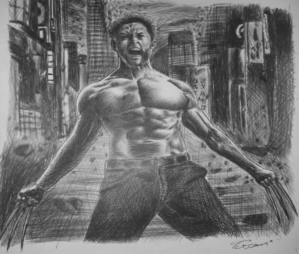 Hugh Jackman by Tumbar